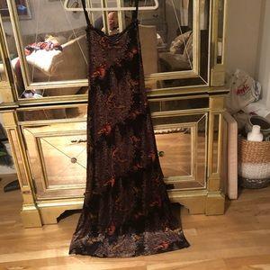 Betsy Johnson Velvet Butterfly Dress